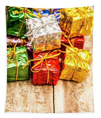 Festive Greeting Gifts Tapestry