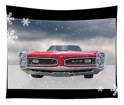 Festive Pontiac Gto Tapestry