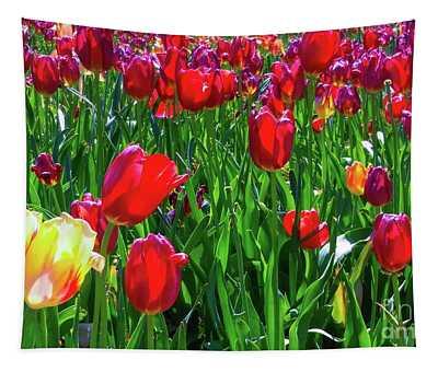 Tulip Garden Tapestry