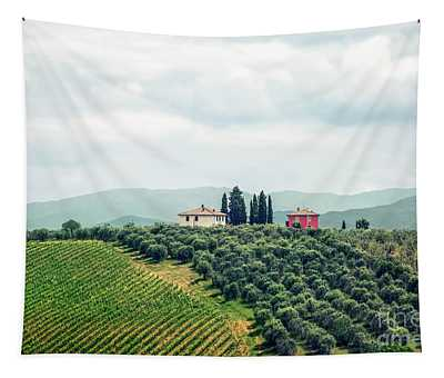Fields Of Heavenly Delights Tapestry