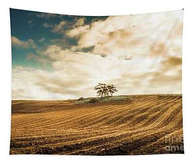 Fields Of Tasmanian Agriculture Tapestry