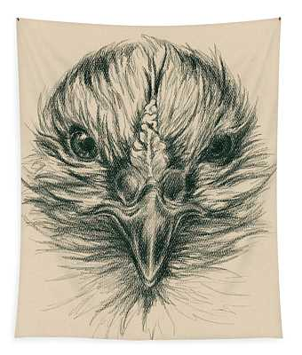 Fierce Hen Tapestry