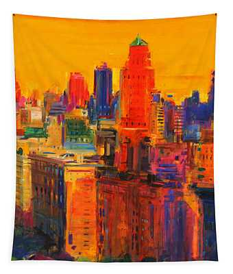 Fifth And Madison Tapestry