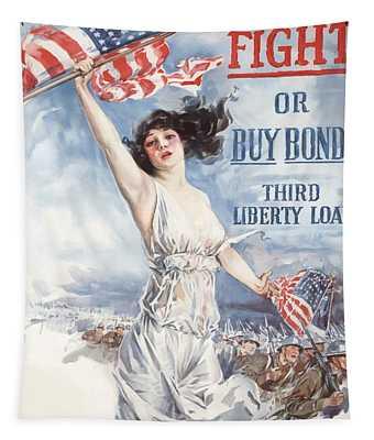 Fight Or Buy Bonds Tapestry