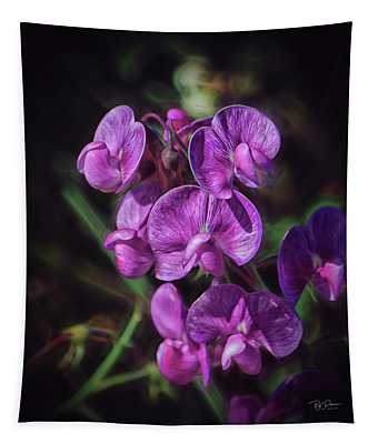 Fine Flower Arrangement Tapestry