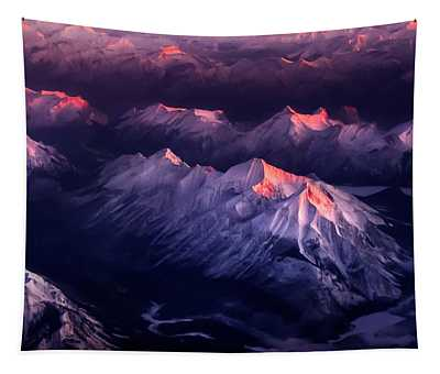 Fire In Ice Tapestry