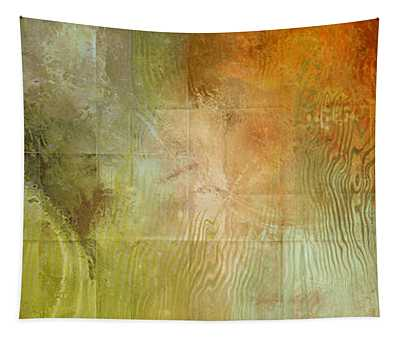 Fire On The Mountain - Abstract Art Tapestry