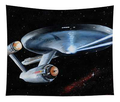 Fire Phasers Tapestry