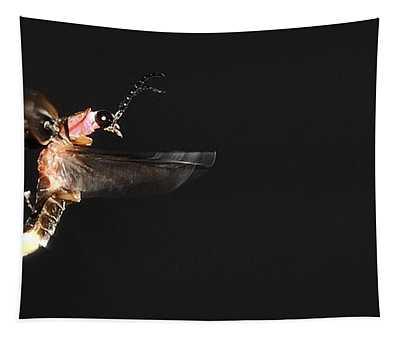 Firefly In Flight Tapestry
