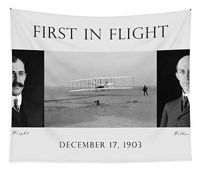 First In Flight - The Wright Brothers Tapestry