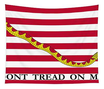 First Navy Jack Tapestry