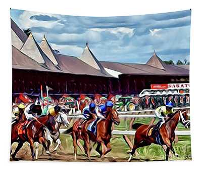 First Turn Saratoga Tapestry