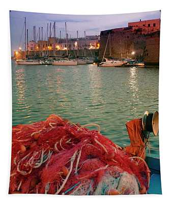 Fisherman's Net Tapestry
