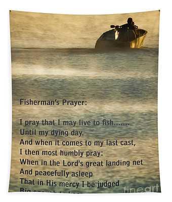 Fisherman's Prayer Tapestry
