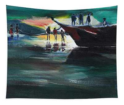 Fishing Line Tapestry