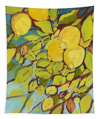 Five Lemons Tapestry