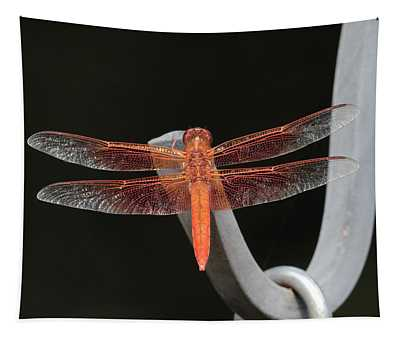 Flame Skimmer Tapestry