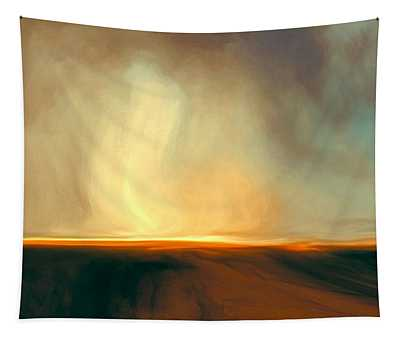 Flaming Sky Tapestry