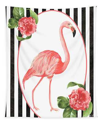 Flamingo Amore 6 Tapestry