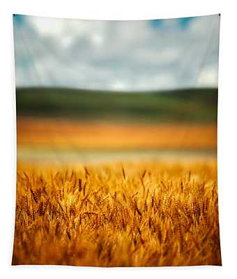 Flaxen Layers Tapestry