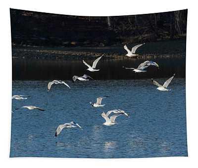 Flock Of Them Tapestry