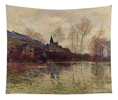 Floods At Giverny Tapestry