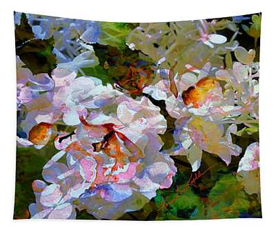 Floral Fiction 2 Tapestry