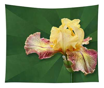 Floral Radiance Tapestry