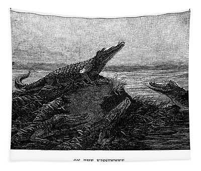 Florida Alligators, 1886 Tapestry