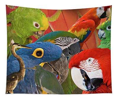 Florida Birds Tapestry