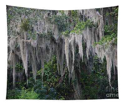 Florida Mossy Tree Tapestry