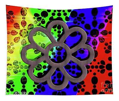 Flower Bright Tapestry