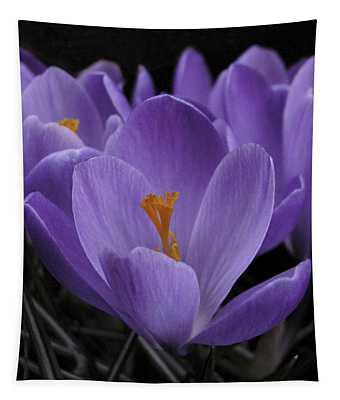 Flower Crocus Tapestry