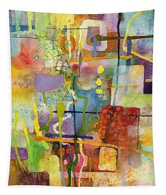 Flower Dance Tapestry