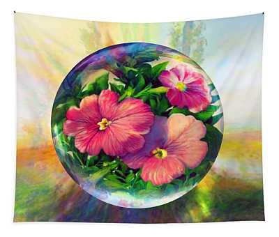 Flowering Panopticon Tapestry