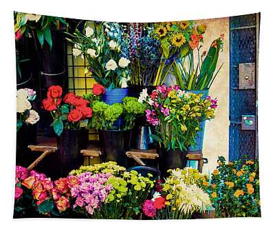 Flowers For Sale Tapestry