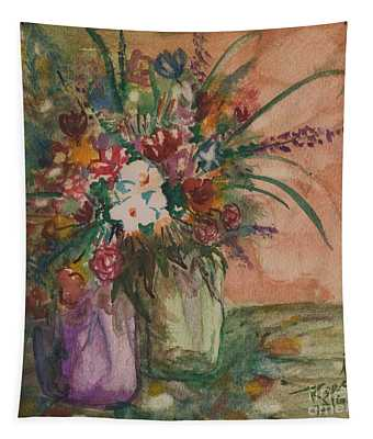 Flowers In Vases 2 Tapestry