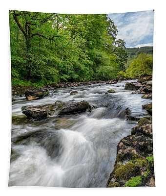 Flowing Water Tapestry