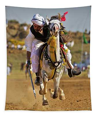 Flying Horse Tapestry