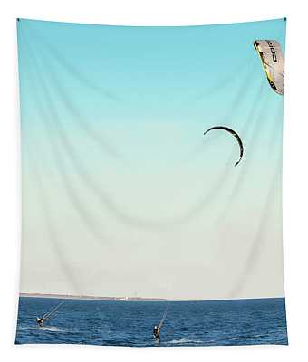 Flying On A Breeze Tapestry