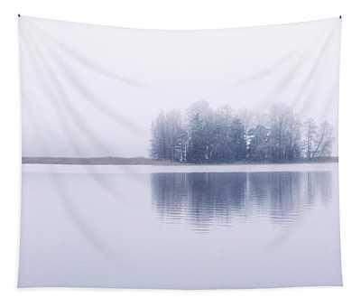 Foggy Lake Tapestry