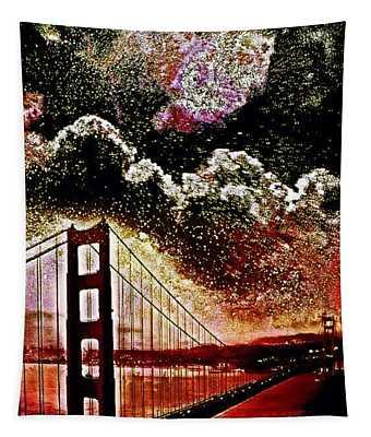 For My Sister Far Away Tapestry