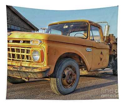 Ford F-150 Dump Truck Tapestry