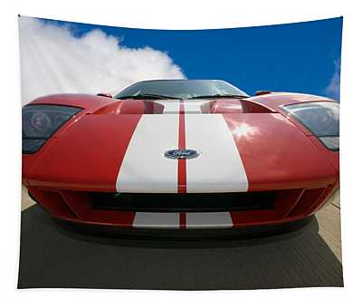 Ford Gt Tapestry by Peter Tellone