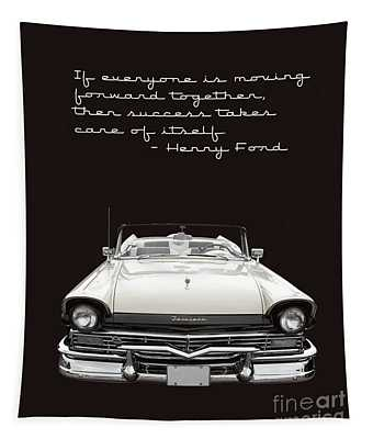 Ford Success Poster Tapestry