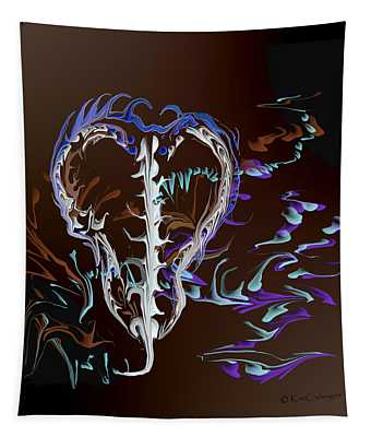 Foreign Object Invasion Tapestry