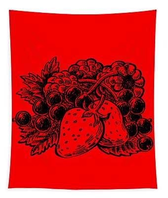 Forest Berries Tapestry