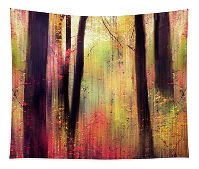 Forest Frolic Tapestry