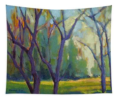 Forest In Spring Tapestry