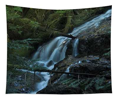 Forest Waterfall. Tapestry